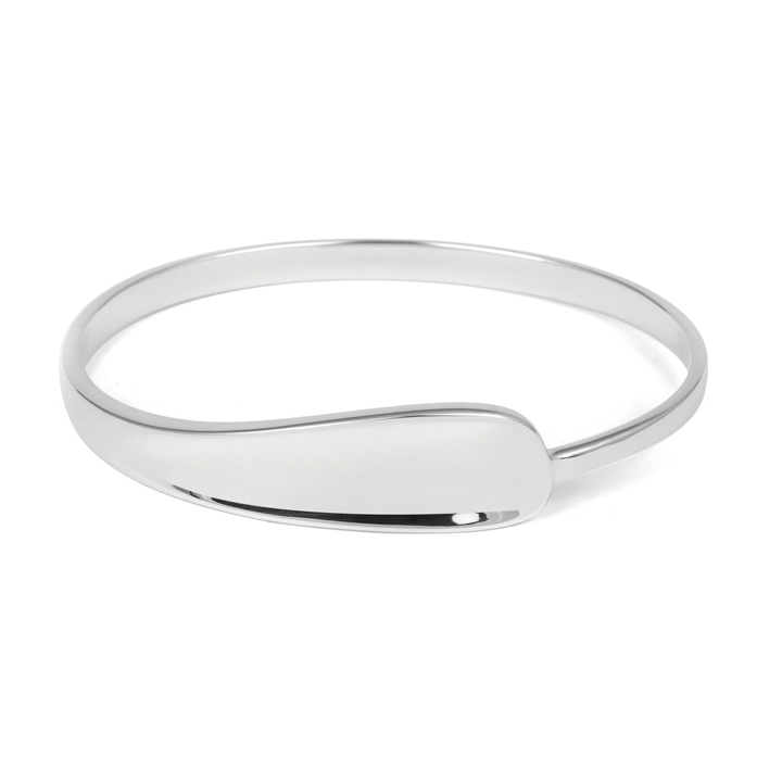 Sterling Silver Bangle (BA-TBL110)